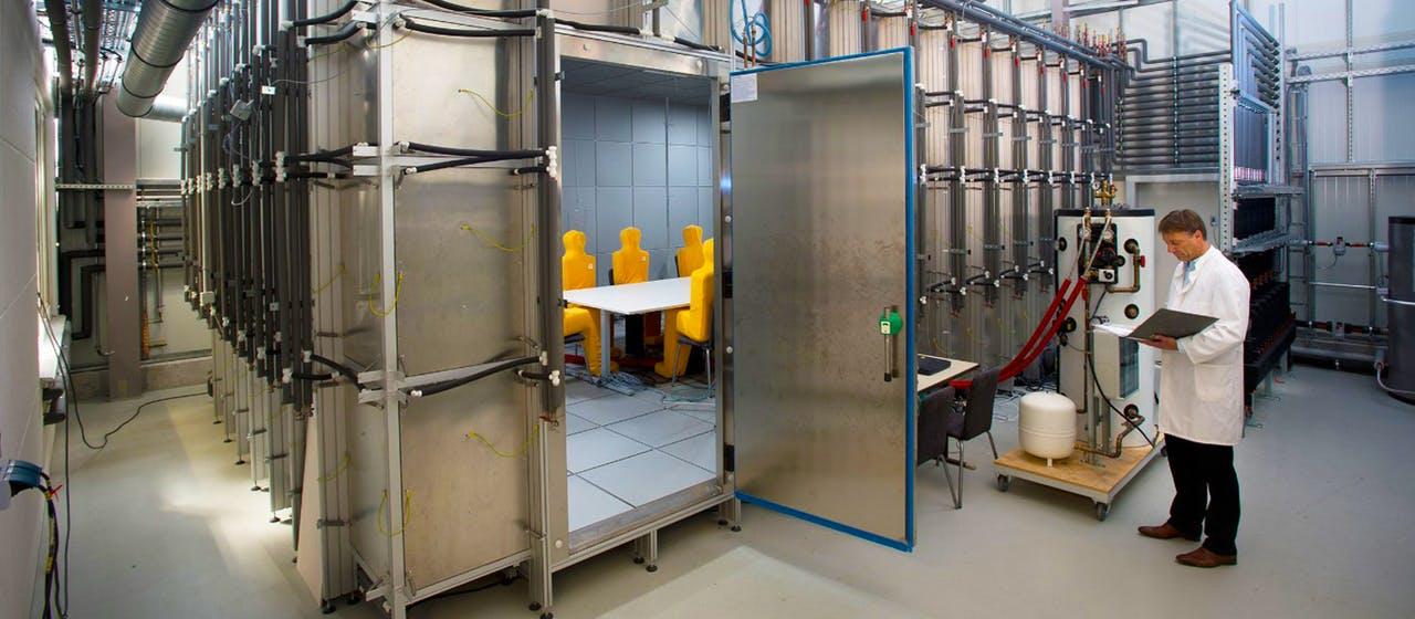 Indoor Air Test Center am Fraunhofer IBP