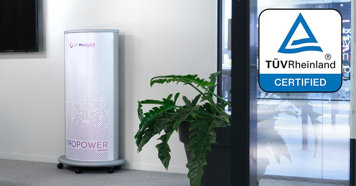 TÜV approved: safe use of UV light