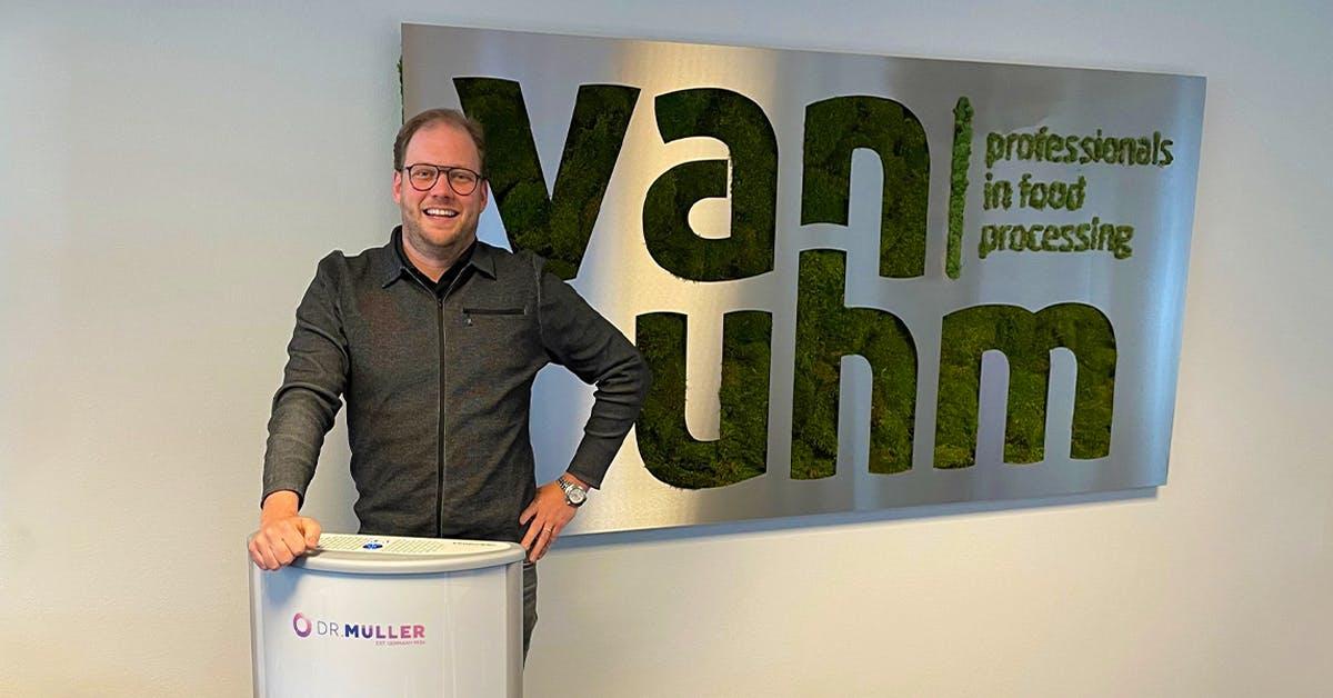 Stephen van Uhm, voedselverwerking machines