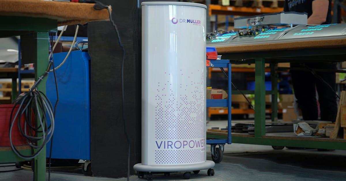 Hoe installeer ik de ViroPower?